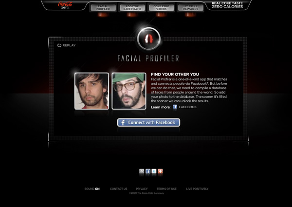 Facial Profile Web Site